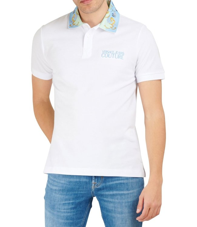 Versace Jeans couture Versace jeans : Polo tuillereis-White