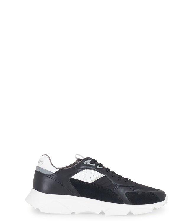 ICEBERG Iceberg : Sneaker comb white sole-Black