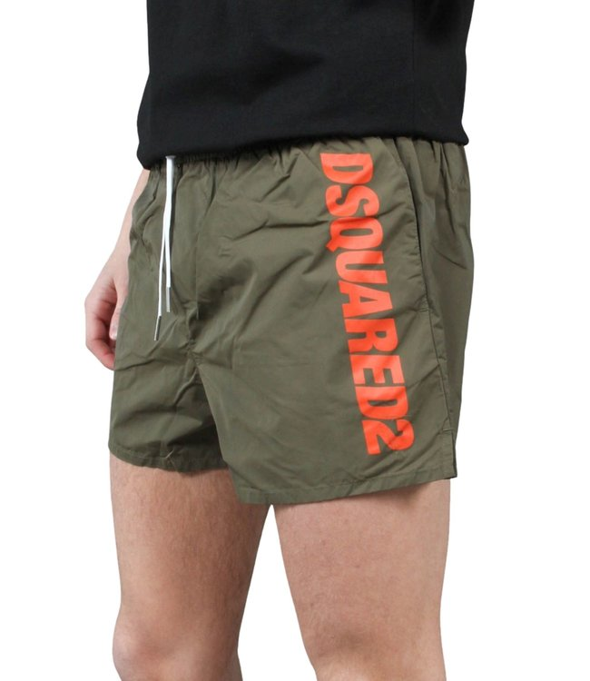 Dsquared2 Dsquared2 : Short side logo-Green