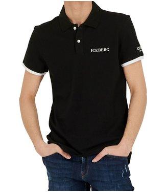 ICEBERG ICEBERG : Polo-ICE1MPL01-Black