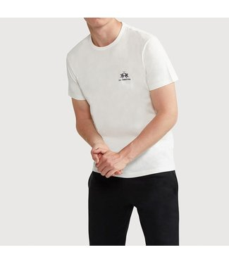 La Martina La Martina : T-shirt logo-White