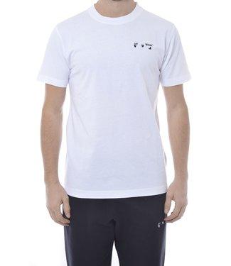 OFF-WHITE OFF-WHITE : Tee OW Logo slim-White