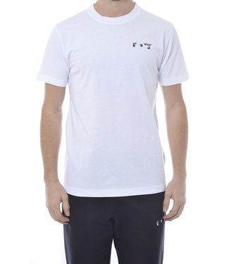 OFF-WHITE OW Logo skate Tee -White