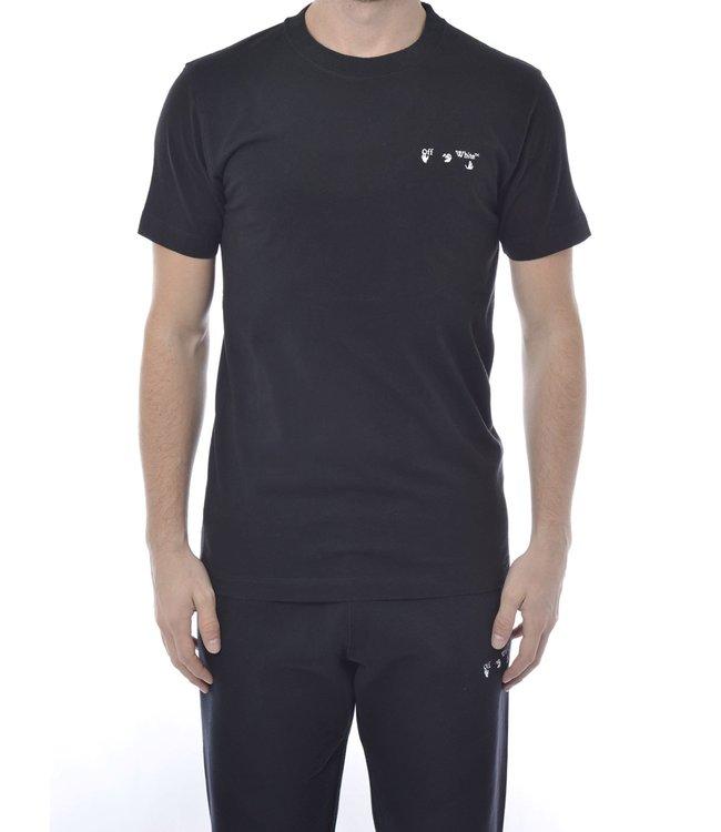 OFF-WHITE OFF-WHITE : Tee OW Logo slim-Black