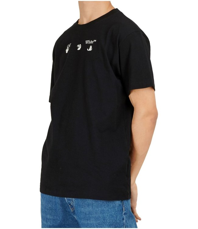 OFF-WHITE OFF-WHITE : Tee Peace world wide-Black
