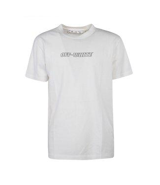 OFF-WHITE OFF-WHITE : Tee Pascal slim-White