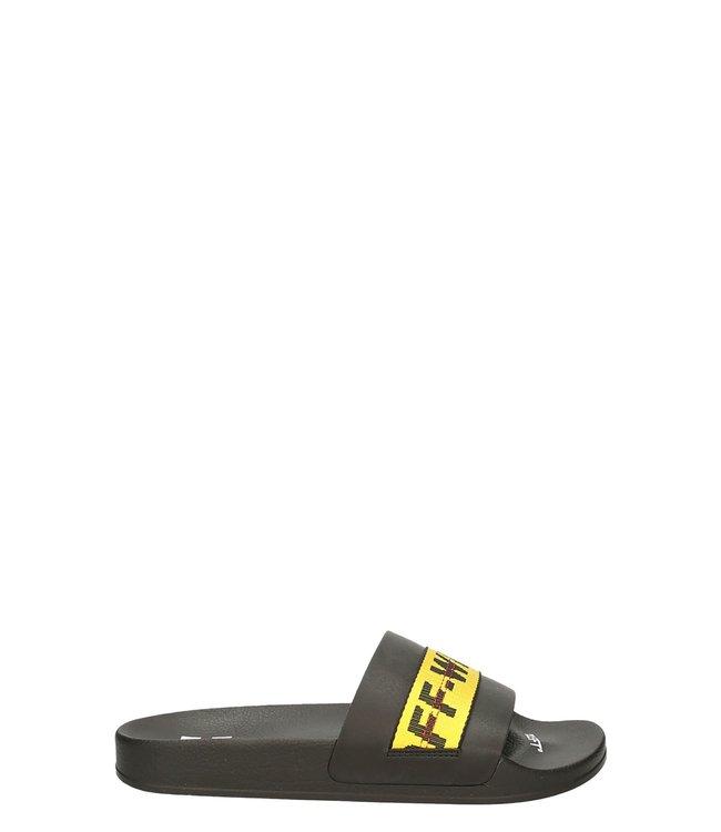 OFF-WHITE OFF-WHITE : Industrial belt slide-Black