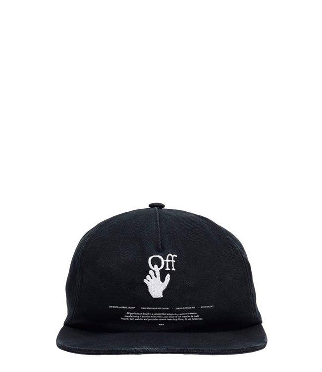 OFF-WHITE OFF-WHITE : Cap Hand off-Black