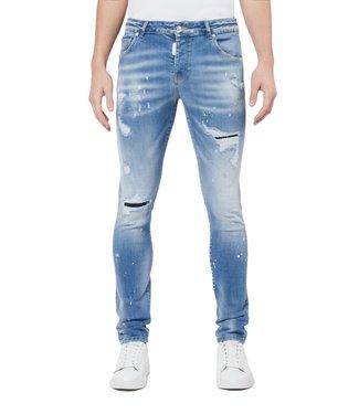 Mybrand Mybrand : Jeans Subtle faded- Light denim