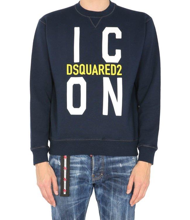 Dsquared2 Dsquared2 : Sweater new Icon Blue