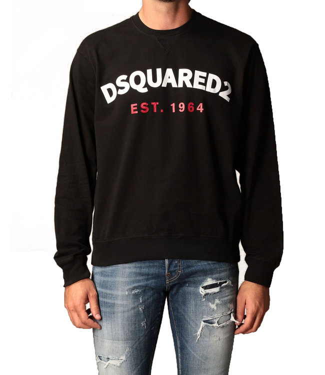 Dsquared2 Dsquared2 : Sweater Est.1964-Black