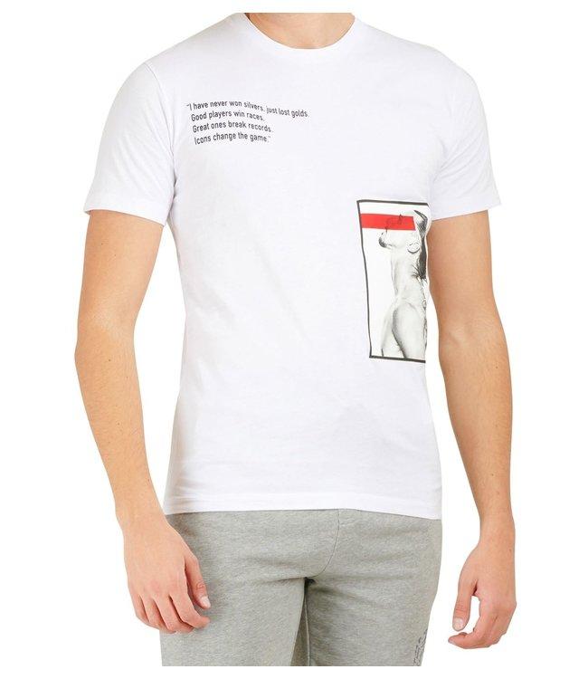 Dsquared2 Dsquared2 : T-shirt Ibra icon-White