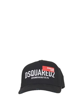 Dsquared2 Dsquared2 : Cap Red tag-Black