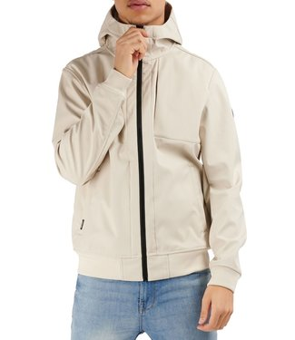 Airforce Airforce : Soft shell Jacket Bone white