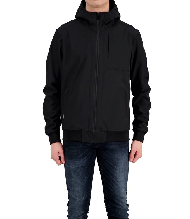 Airforce Airforce : Soft shell Jacket Black