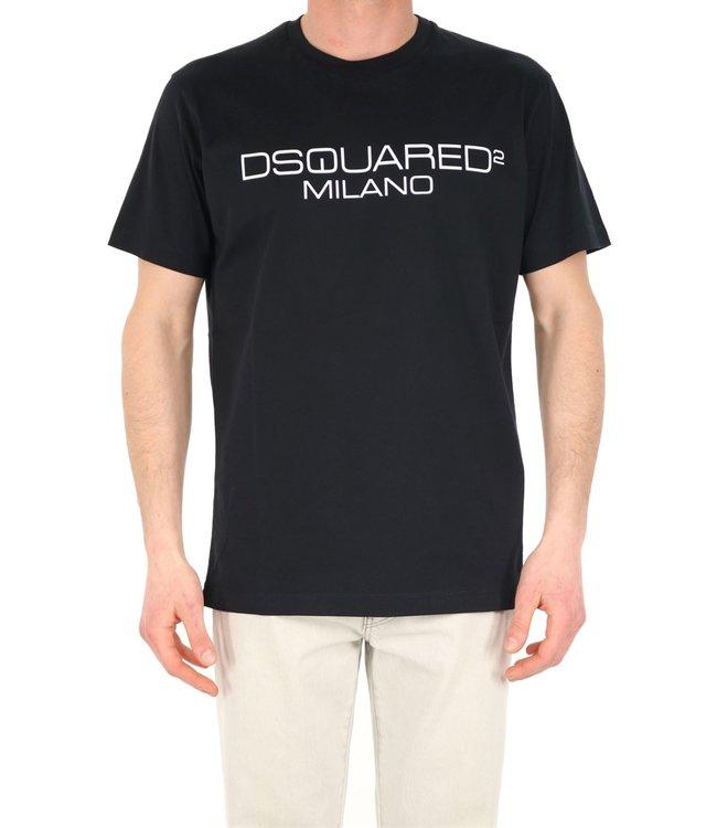 Dsquared2 Dsquared2 : T-shirt Milano-Black