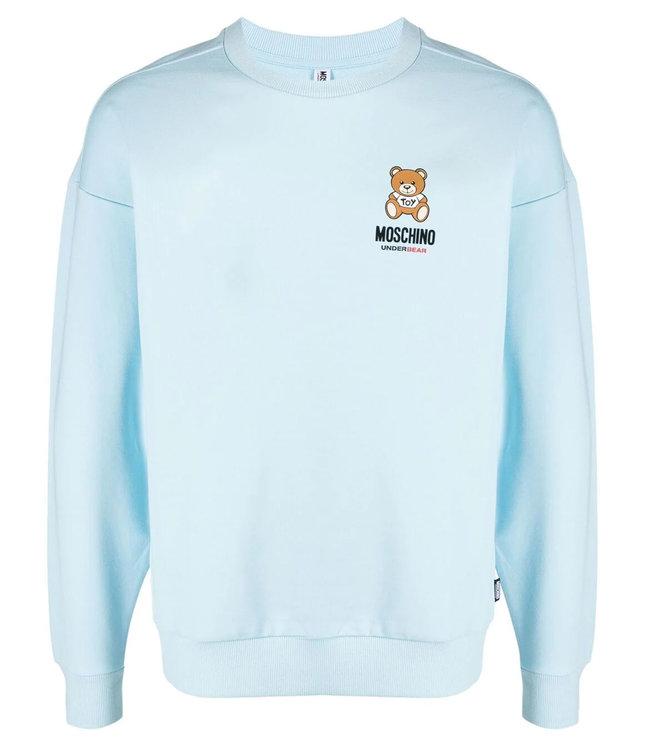 Moschino Moschino : Sweater Under bear-Blue