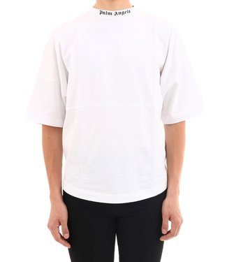 Palm Angels Palm Angels : Classic logo over tee-White