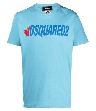 Dsquared2 Dsquared2 : T-shirt Logo-Blue