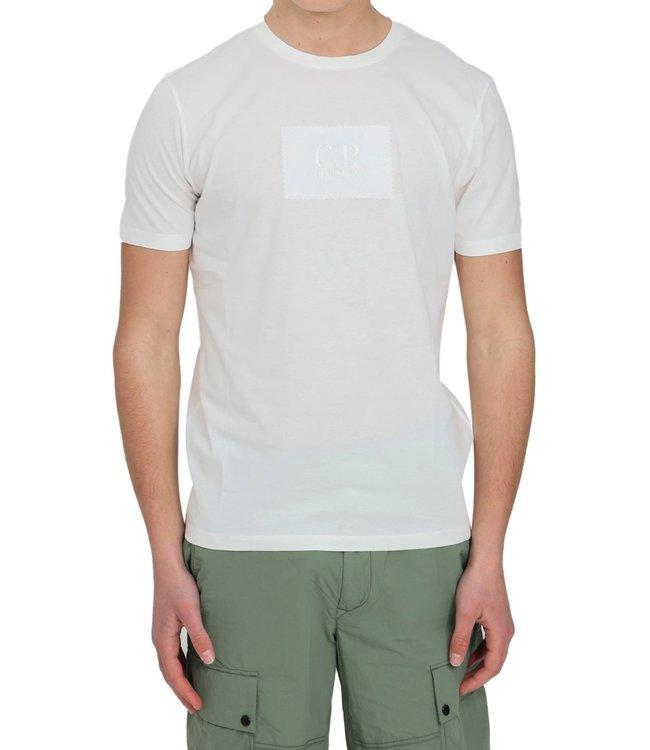 C.P Company T-shirt Logo patch-White