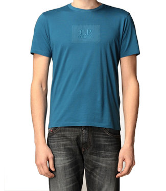 C.P Company T-shirt Logo patch-Blue
