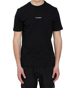 C.P Company T-shirt Classic logo-Black