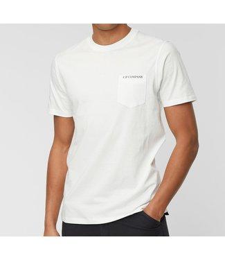 C.P Company T-shirt Chest pocket-White