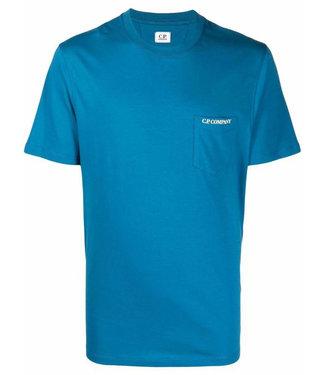 C.P Company T-shirt Chest pocket-Blue