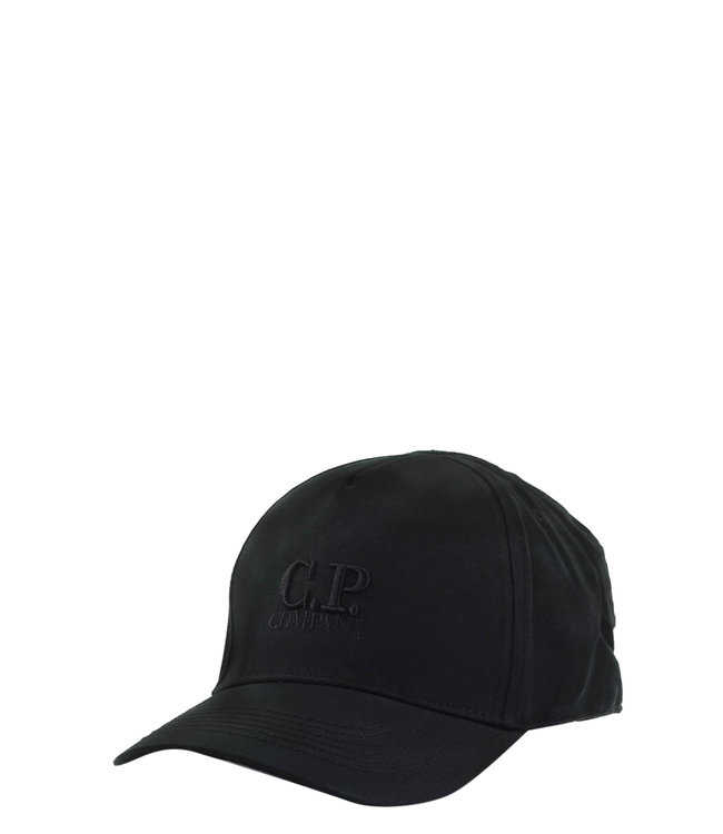 C.P Company Logo cap-Black