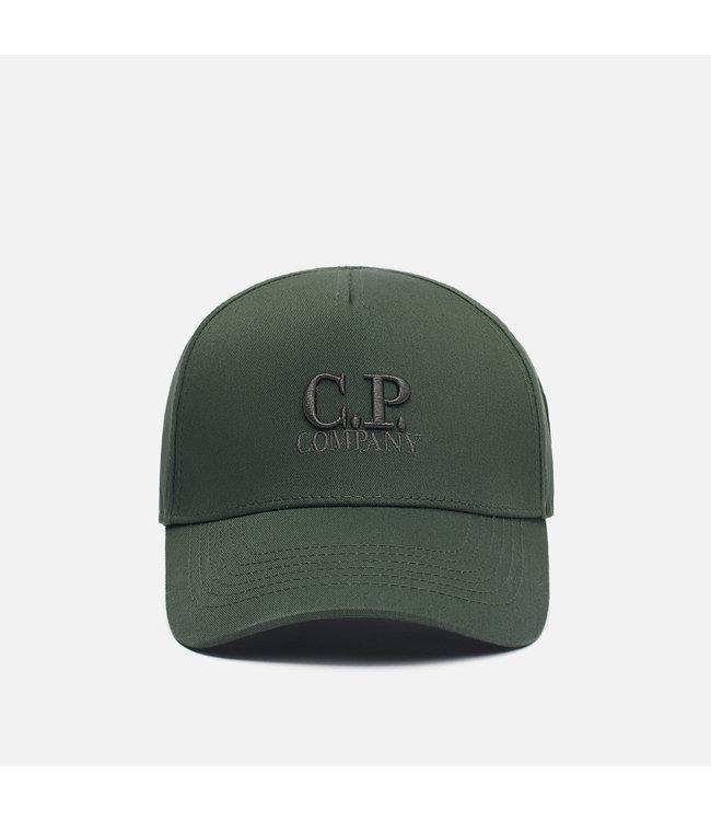 C.P Company C.P-Classic logo cap-D.green