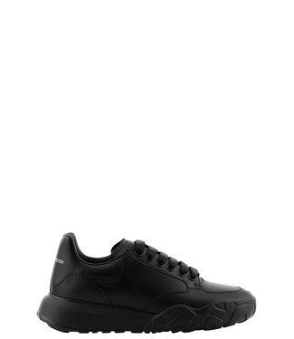 Alexander McQueen Men Court trainers-Black