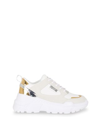 Versace Jeans couture Mirror sneaker-White