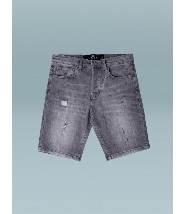 Xplicit Micro Shorts-Grey
