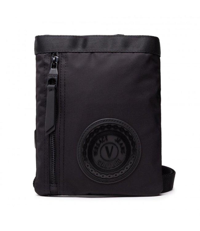 Versace Jeans couture Range emblem bag Black