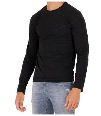 ICEBERG Long sleeve logo-Black