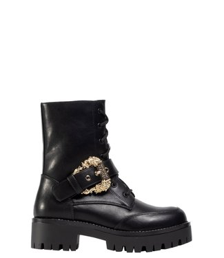 Versace Jeans couture Boot buckle- Black