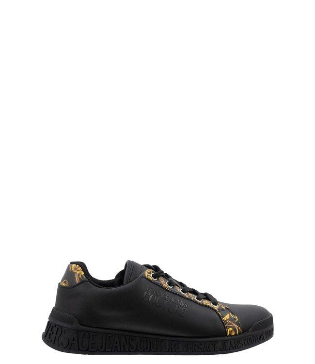 Versace Jeans couture Logo sneaker-Black-baroque