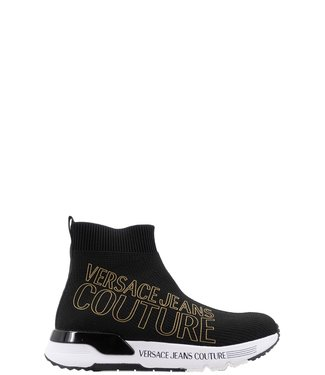Versace Jeans couture Sock sneakers Black