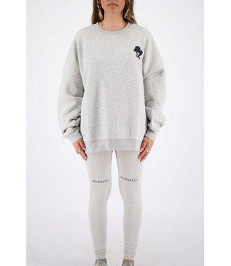 Reinders Sweater Head logo-Quiet gray