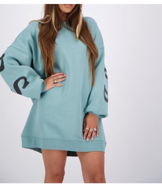 Reinders Yara fay sweater dress-Min.Blue
