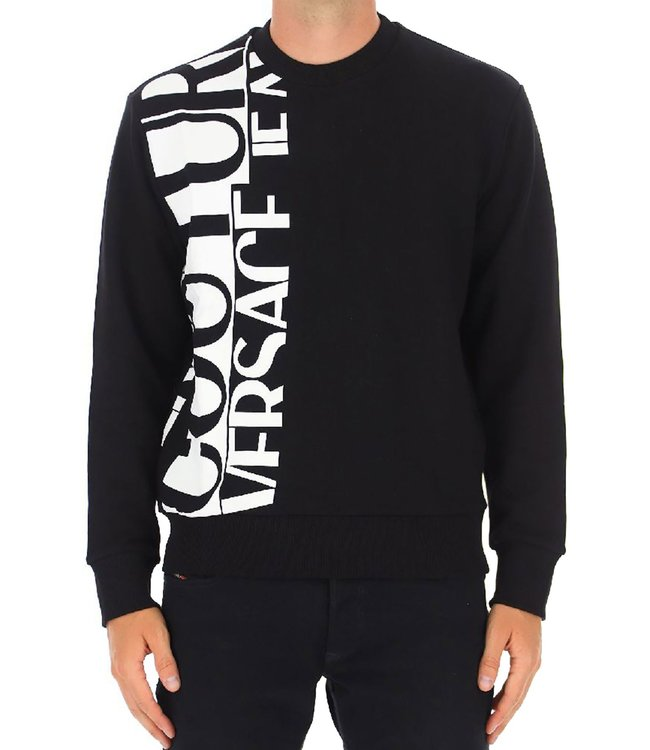 Versace Jeans couture Sweater Logo story-Black