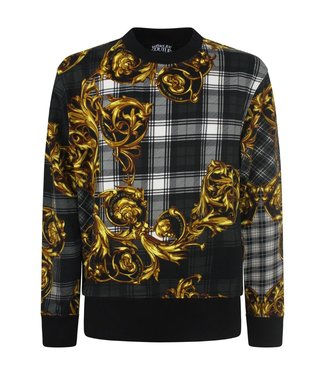 Versace Jeans couture Sweater Highland Baroque print