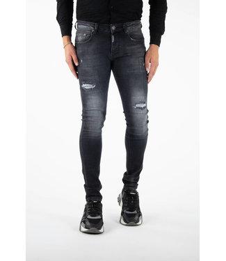 Richesse Jeans Verona-Dark grey