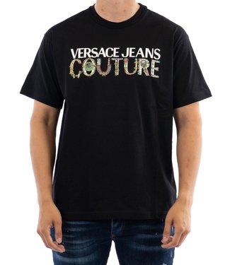 Versace Jeans couture T-shirt Bijoux Logo-Black