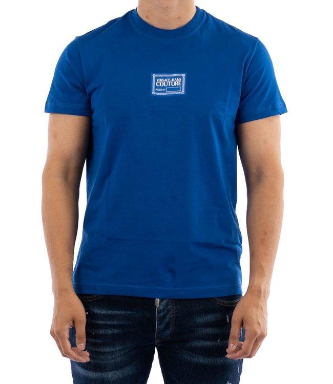 Versace Jeans couture T-shirt logo patch-Blue