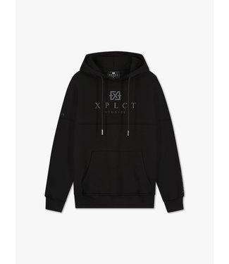 Xplicit Xplicit : Brand hoodie-Black