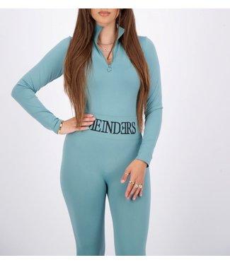 Reinders BODY TURTLENECK ZIPPER-Min.blue