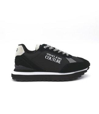 Versace Jeans couture Men fondo spyke sneaker-Black