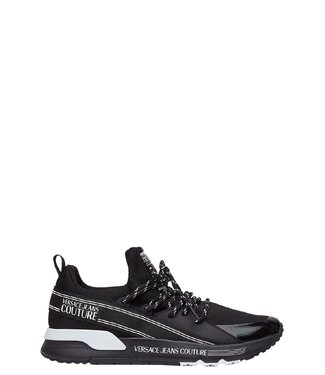 Versace Jeans couture Sneaker knitted gummy-Black