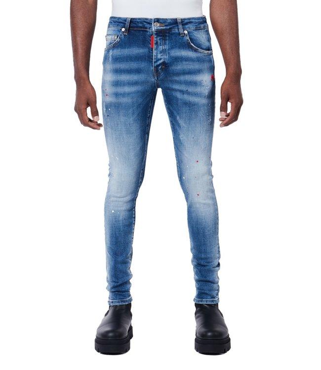 Mybrand Red spot-Denim jeans